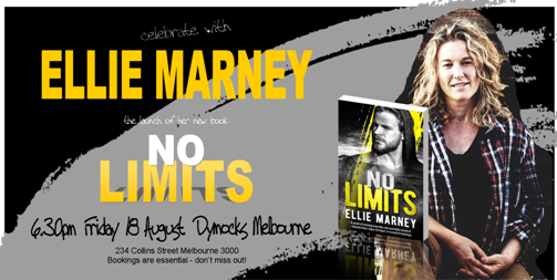 Open Invitation Launch Of No Limits By Ellie Marneysisters In Crime