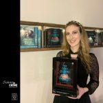 Astrid Scholte with 2020 Davitt Award