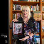 Jenny Blackford with 2020 Davitt Award