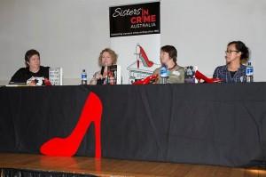 Narelle Harris, Emma Viskic, Cath Ferla & Rebecca Lim
