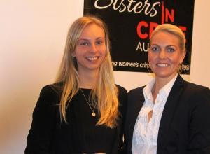 1st prize raffle winner Zoe Carney & Kirei Wall
