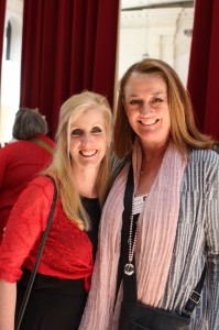 Sandi Wallce & Kathryn Ledson
