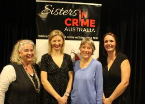 Janice Simpson, Sarah Bailey, Dorothy Johnston & Leigh Straw