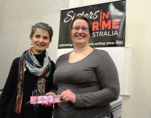 Natalie Conyer & Claire Weeden raffle wwiiner