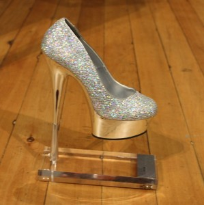 Silver stiletto trophy 2016